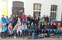 Klassenstufe 6 im Textilmuseum von Crimmitschau