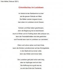 Crimmitschau im Lockdown