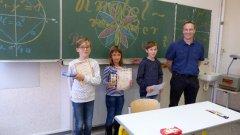 Die Sieger des mathematischen Knobelwettbewerbes